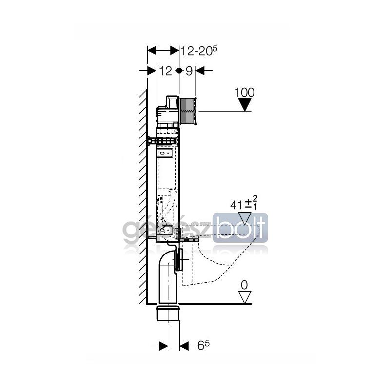 geberit kombifix wc szerel elem fali wc r sz re up320 bl t tart llyal szagelsz v si. Black Bedroom Furniture Sets. Home Design Ideas