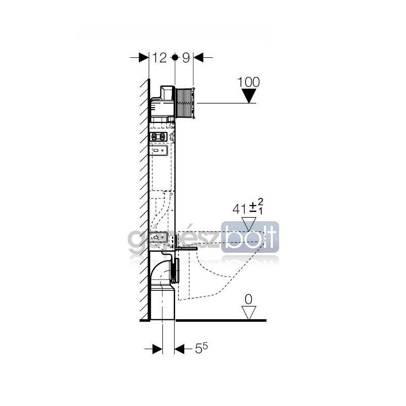 geberit kombifix wc szerel elem fali wc r sz re up320 bl t tart llyal eco g p szbolt. Black Bedroom Furniture Sets. Home Design Ideas