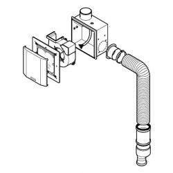 Geberit Aerotec90 szagelszívó ventilátor készlet WC-hez