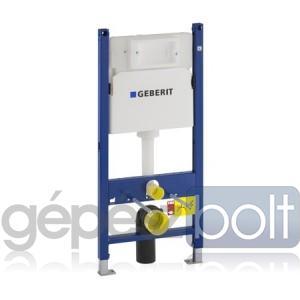 Geberit DuofixBasic WC szerelőelem fali WC részére UP100 öblítőtartállyal