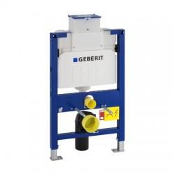 Geberit Duofix Alacsony (82cm) WC szerelőelem fali WC részére, UP200 öblítőtartállyal