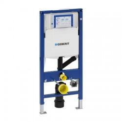 Geberit Duofix WC szerelőelem fali WC részére, UP320 öblítőtartállyal, belsőkeringtetésű szagelszívási lehetőséggel