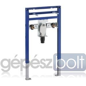 Geberit Duofix Alacsony (82/98 cm) Duofix mosdó szerelőelem álló csapteleppel szerelt fali mosdó részére, szifonnal