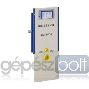 Geberit Sanbloc WC szerelőelem fali WC részére UP320 öblítőtartállyal