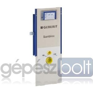 Geberit Sanbloc WC szerelőelem fali WC részére UP320 öblítőtartállyal, szagelszívási lehetőséggel