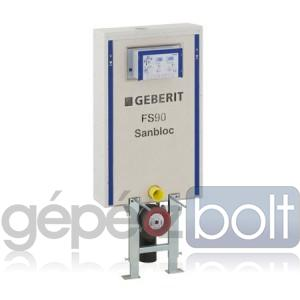 Geberit Sanbloc FS 90 WC szerelőelem fali WC részére UP320 öblítőtartállyal