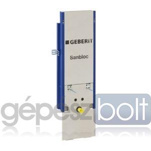 Geberit Sanbloc Bidé szerelőelem fali bidé részére, kötéstávolság 7,6 cm
