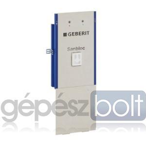 Geberit Sanbloc Mosdó szerelőelem fali csapteleppel szerelt fali mosdó részére, falsík alatti szifonnal