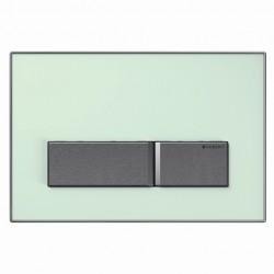Geberit Sigma50 nyomólap, zöld tejüveg színben