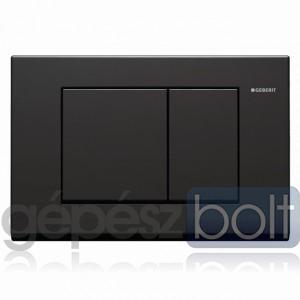 Geberit Bolero nyomólap, fekete RAL 9005 színben