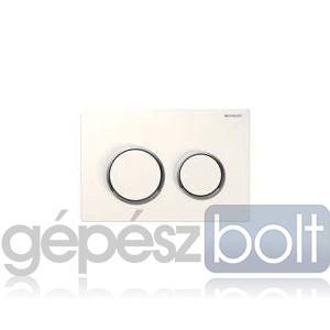 Geberit Kappa 21 nyomólap, fehér / fényes króm / fehér színben