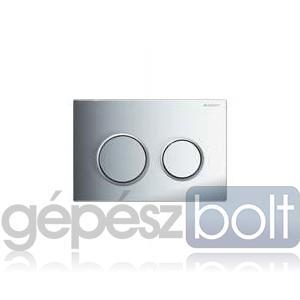 Geberit Kappa 21 nyomólap, magasfényű krómozott / matt króm / magasfényű krómozott színben