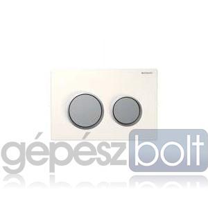 Geberit Kappa 21 nyomólap, fehér / matt króm / matt króm színben