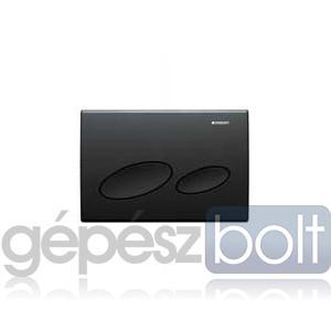 Geberit Kappa 20 nyomólap, fekete RAL 9005 színben