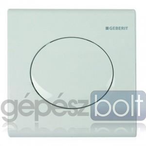 Geberit HyTouch pneumatikus vizelde vezérlés, Samba dizájn alpin fehér színben