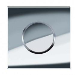 Geberit HyTouch pneumatikus vizelde vezérlés, Sigma10 dizájn fényes króm / matt króm / fényes króm színben