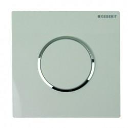 Geberit HyTouch pneumatikus vizelde vezérlés, Sigma10 dizájn fehér / fényes króm / fehér színben
