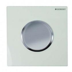 Geberit HyTouch pneumatikus vizelde vezérlés, Sigma10 dizájn fehér / matt króm / matt króm színben