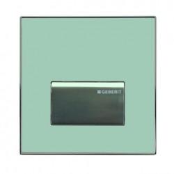 Geberit HyTouch pneumatikus vizelde vezérlés, Sigma50 dizájn zöld tejüveg színben