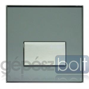 Geberit HyTouch pneumatikus vizelde vezérlés, Sigma50 dizájn tükrözödő füstüveg színben