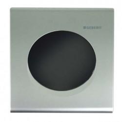 Geberit HyTronic automata vizelde vezérlés, infravörös, hálózati, Samba dizájn matt króm színben