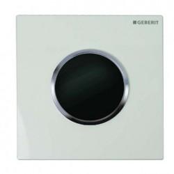 Geberit HyTronic automata vizelde vezérlés, infravörös, hálózati, Sigma10 dizájn fehér / fényes króm / fehér színben