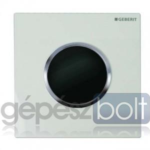 Geberit HyTronic automata vizelde vezérlés, infravörös, hálózati, Sigma10 dizájn fehér / matt króm / matt króm színben