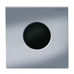Geberit HyTronic automata vizelde vezérlés, infravörös, hálózati, Mambo dizájn szálcsiszolt rozsdamentes acél