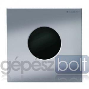 Geberit HyTronic automata vizelde vezérlés, infravörös, elemes, Mambo dizájn szálcsiszolt rozsdamentes acél