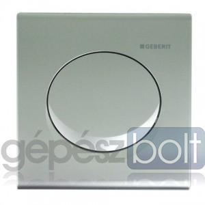 Geberit Basic pneumatikus vizelde vezérlés Samba dizájnú kézi nyomógombbal matt króm színben