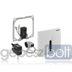 Geberit Basic UR50 automata vizelde vezérlés, infravörös, hálózati alpin fehér színben