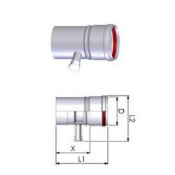 Tricox PPs kondenzátum leválasztó 110mm