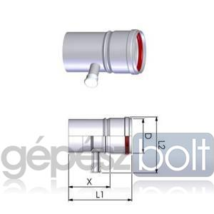 Tricox PPs kondenzátum leválasztó 200mm