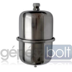 Zilmet INOX-Pro fix membrános hidrofor tartály, 0,5 l, 10 bar, álló