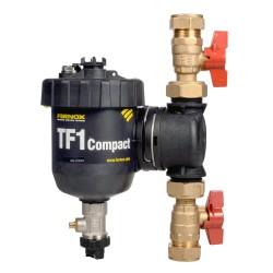 Fernox Total Filter TF1 Compact 22mm rendszerbe építhető kombinált szűrő