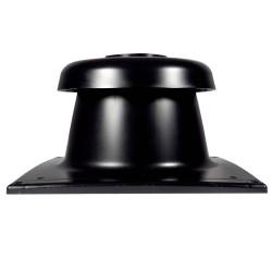Tricox Kürtő fedél fekete 80mm