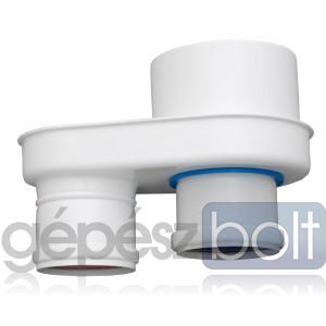 Tricox PPs/Alu osztó adapter 60/100 - 2x80