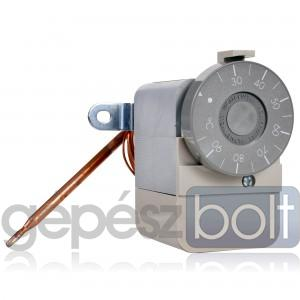 Honeywell Aquastat Kapilláris termosztát 70-140°C, hiszterézis 4-10K, kimenet SPDT, kapilláris hossz 1,5m