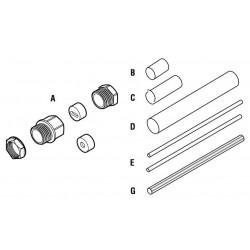 Raychem CE20-03 Csatlakozó és végelzáró zsugorcsöves készlet
