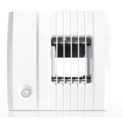 Aereco BXC 406 Higroszabályozású légelvezető, távirányítóval kapcsolgató airfloiw+ funkcióval 12-80/80 m³/h  Ø100 mm