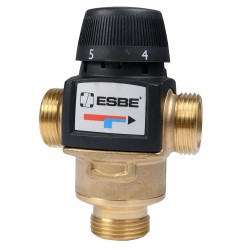 """Esbe VTA572 termosztatikus keverőszelep 45-65°C 1"""" km kvs 4,5"""