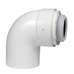 Tricox PPs/Alu könyök 80/125mm 87°