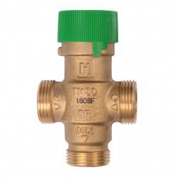 """Honeywell TM50 termosztatikus keverőszelep forrázás elleni védelemmel 3/4"""" külső menet"""