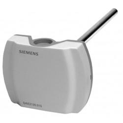 Siemens QAE2112.010 Merülő hőmérsékletérzékelő 100 mm Pt1000 védőcső nélkül
