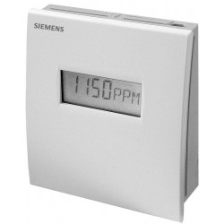 Siemens QPA2062D Helyiség légminőség, hőmérséklet  és relatív páratartalom érzékelő kijelzővel CO2