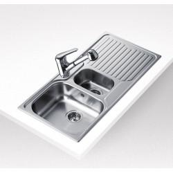 Teka Stena 60 B 1 1/2 B 1D Megfordítható mosogató tálca fényes felületű
