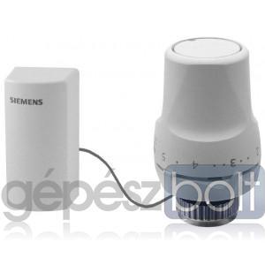 Siemens RTN71 termosztatikus szelepfej távérzékelővel