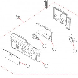 Unical KONe R 24 Vezérlő doboz komplett