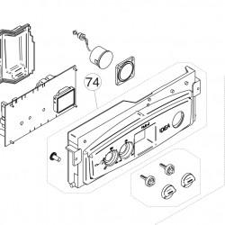 Unical Vezérlő doboz előlap