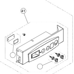 Unical Vezérlő doboz panel nélkül ALKON 09 C-R